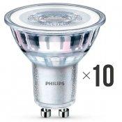 Komplet 10 sztuk żarówek LED 4,6W (50 W) GU10 biała ciepła 8718696582572 Philips