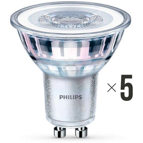 Komplet 5 sztuk żarówek LED 4,6W (50 W) GU10 biała ciepła 8718696582572 Philips
