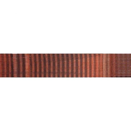 Płytka ścienna JAZZ czerwona listwa mat 5,4x29 gat. I