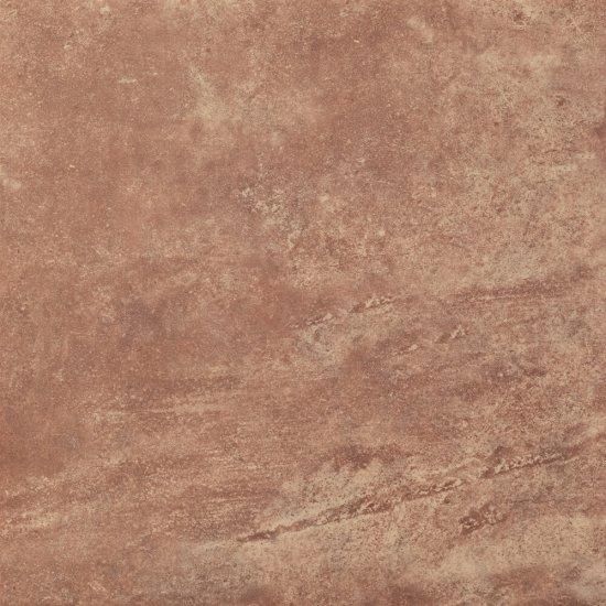 Gres szkliwiony LUKA brązowy mat 32,6x32,6 gat. II