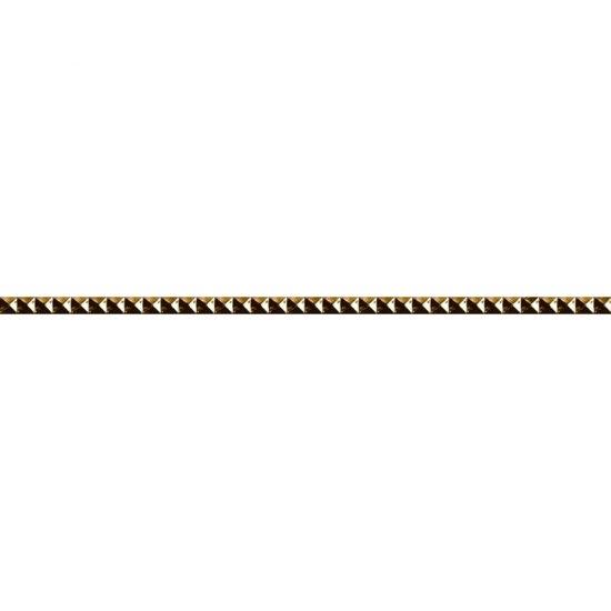 Płytka ścienna JAZZ złota listwa mat 1,8x59,3 gat. I