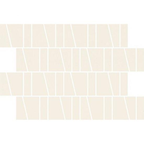 Płytka ścienna ZAMBEZI ivory mozaika trapez mat 20x29,9 gat. I