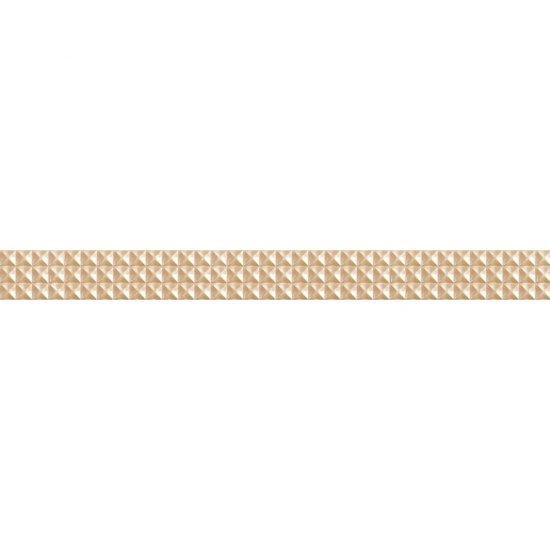 Płytka ścienna JAZZ beżowa listwa geo mat 5,4x59,3 gat. I