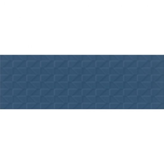 Płytka ścienna ZAMBEZI niebieska struktura mat big 20x60 gat. I