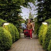 Lampa ogrodowa solarna DUSK 1xLED 17809/93/16 Philips
