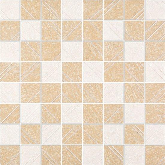 Gres szkliwiony TRIPOLIS beżowy mozaika mat 39,6x39,6 gat. I