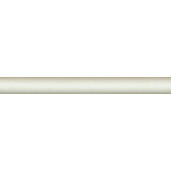 Płytka ścienna LIRYKA biała listwa cygaro błyszcząca 2,5x25 gat. I
