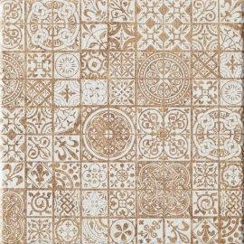Gres szkliwiony INDOS brązowy grafica 32,6x32,6 gat. I