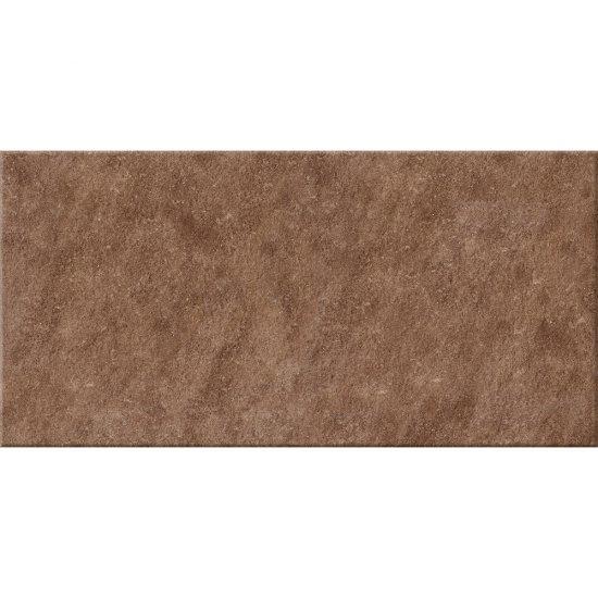 Gres zdobiony DRY RIVER brązowy mat 29,55x59,4 gat. I