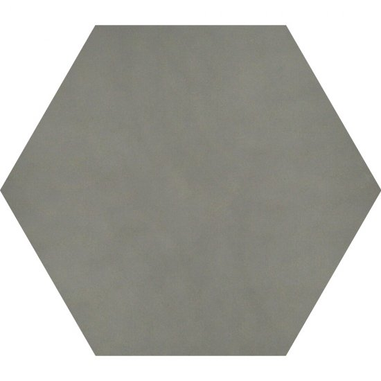 Gres hiszpański heksagonalny PIKSEL srebrny 25