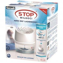 Pochłaniacz wilgoci CERESIT STOP Wilgoci AERO 360 łazienkowy 450g