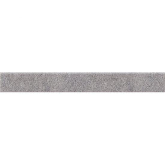 Gres zdobiony DRY RIVER szary cokół mat 7,2x59,4 gat. I