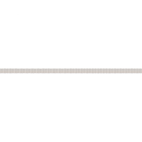 Gres szkliwiony EQUINOX biały listwa szklana mat 2x59,3 gat. I