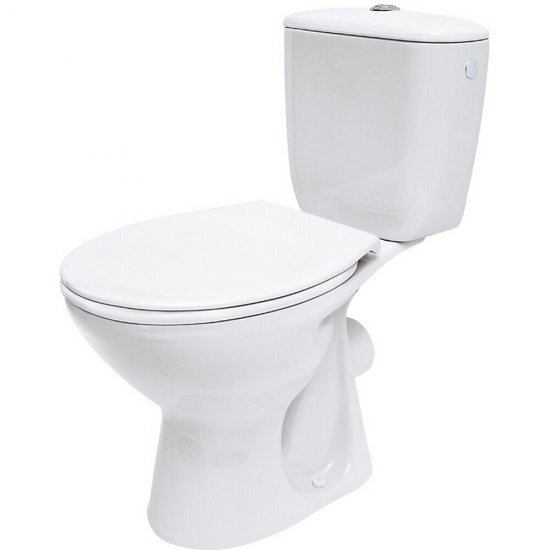 Kompakt WC PRESIDENT z deską polipropylenową