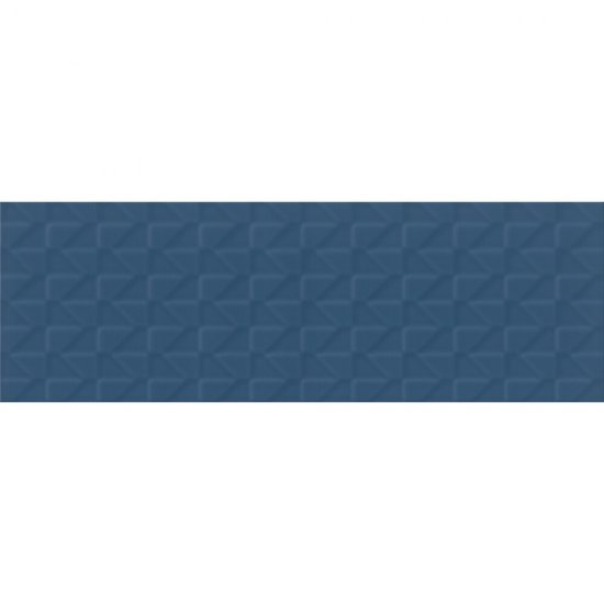 Płytka ścienna ZAMBEZI niebieska big struktura mat 20x60 gat. II