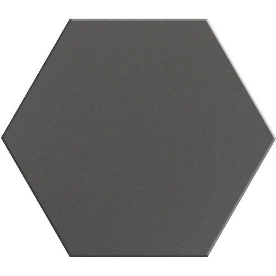 Gres hiszpański heksagonalny MALEFICO szary 25