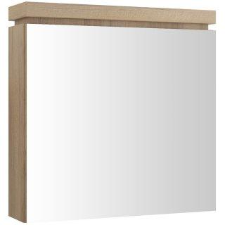 Szafka łazienkowa wisząca z lustrem OLIVIA orzech S543-014 Cersanit