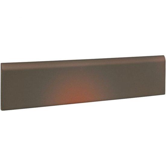 Klinkier SHADOW BROWN brązowy cokół mat 8x30 gat. II