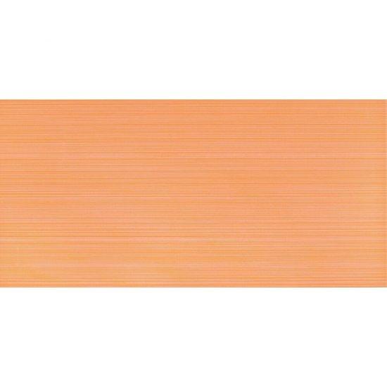 Płytka ścienna LINERO pomarańczowa błyszcząca 29x59,3 gat. I