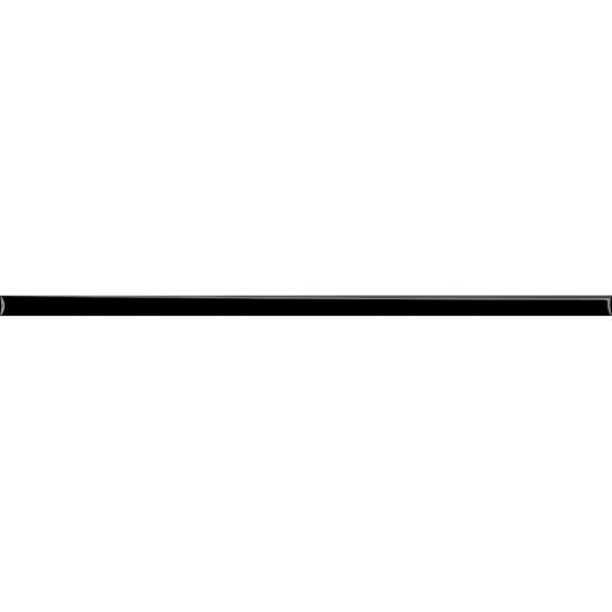 Gres szkliwiony DAMASCO czarny listwa poler 2x59,8 gat. I