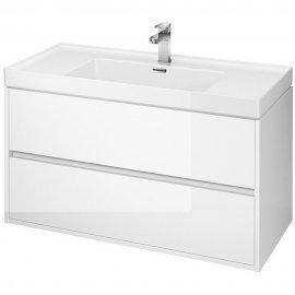 Szafka z umywalką CREA 100 biała SET B106