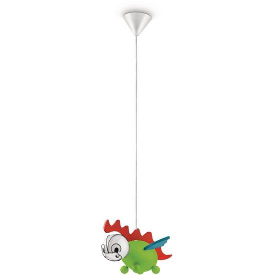 Lampa dziecięca DRAKEY 1xE27 40229/55/16 Philips