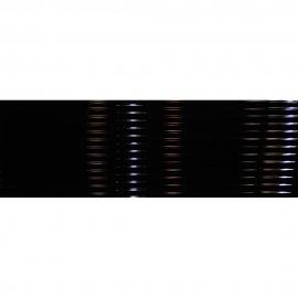 Płytka hiszpańska ścienna ALGECIRAS linie czarny 30x90