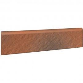 Klinkier SHADOW RED czerwony cokół struktura 3-D mat 8x30 gat. II