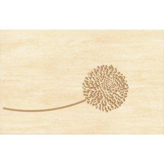Płytka ścienna Edera beige inserto kwiatek 25x40 Cersanit