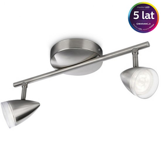 Lampa sufitowa MAPLE 2xLED 53212/17/16 Philips