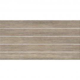 Płytka ścienna NATURE brązowa wood struktura satyna 29,7x60 gat. I