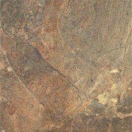 Gres szkliwiony RUSTYK brązowy kamień mat 42x42 gat. II