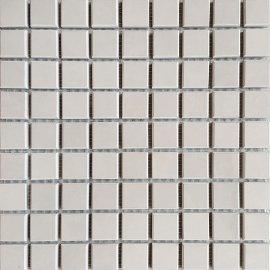 Gres zdobiony CALABRIA szary mozaika poler 29,55x29,55 gat. I