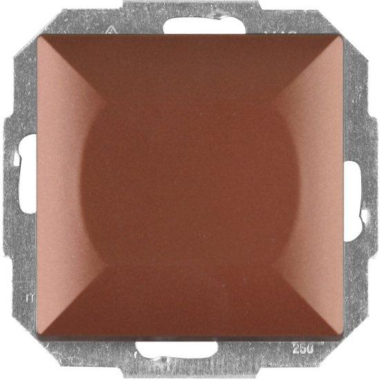Łącznik modułowy PERŁA światło/dzwonek z podśw. WP-6/7P/S miedź Abex