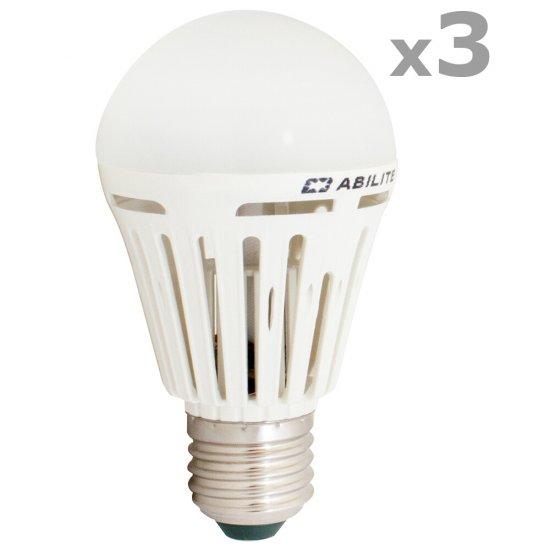 Żarówka 48 LED SMD 5W E27 biały ciepły 43364 3szt Abilite