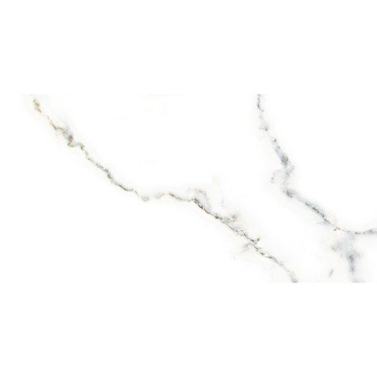 Płytka ścienna CARRARA SHINY biała błyszcząca 30x60 gat. I