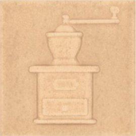 Płytka ścienna ARIZA brązowa motyw kafel 1 błyszcząca 10x10 gat. I