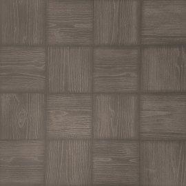 Gres szkliwiony MANAUS wenge mozaika 42x42 gat. I