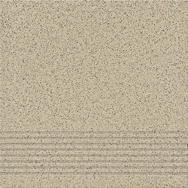 Gres techniczny KALLISTO jasnoszary stopnica mat 29,7x29,7 gat. II