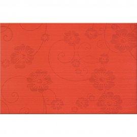 Płytka ścienna FLOWER czerwona mat 30x45 gat. I