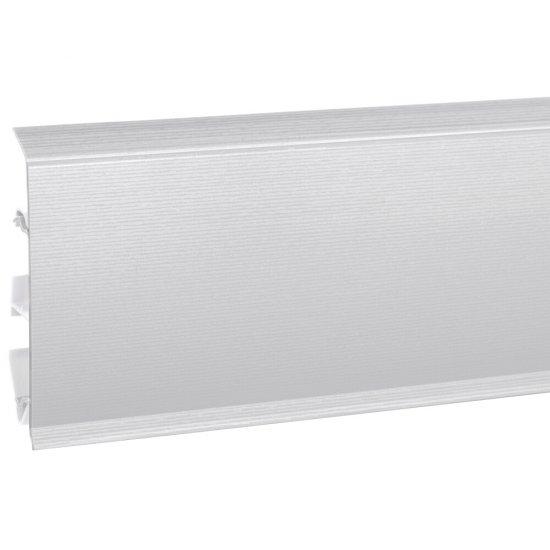 Listwa przypodłogowa EVO aluminium 2,5 m KORNER