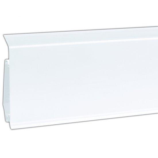 Listwa przypodłogowa EVO biały 2,5 m KORNER