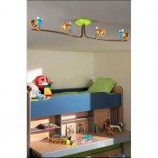 Lampa dziecięca BIRDEY 4xGU10 56314/55/16 Philips