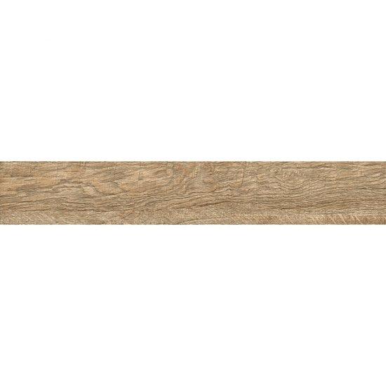 Gres szkliwiony LEGNO RUSTICO beżowy mat 14,7x89,5 gat. II