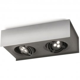 Lampa sufitowa RADAR 2xLED 57985/48/16 Philips