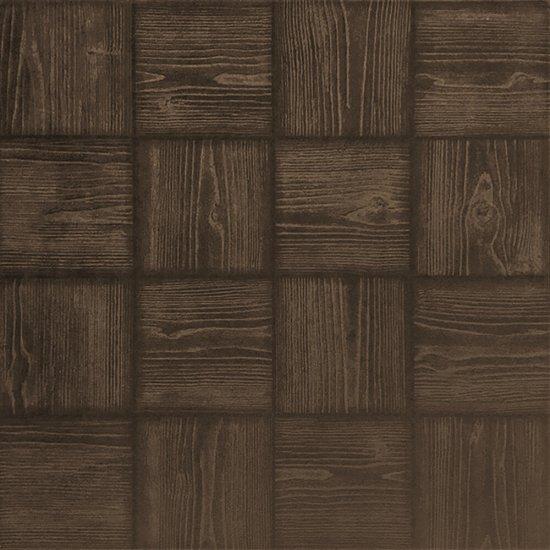 Gres szkliwiony MANAUS brązowy mozaika 42x42 gat. II