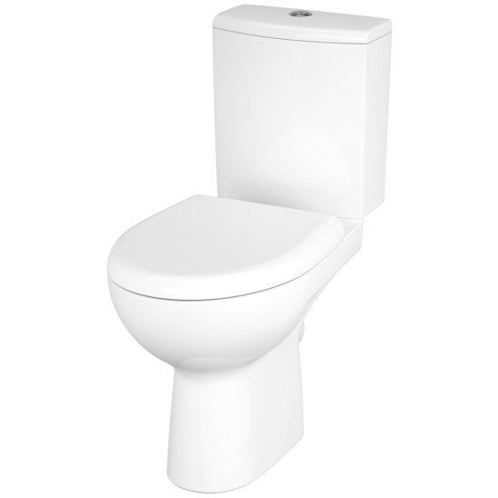 Kompakt WC NATURE z deską duroplastową wolnoopadającą SMOOTH