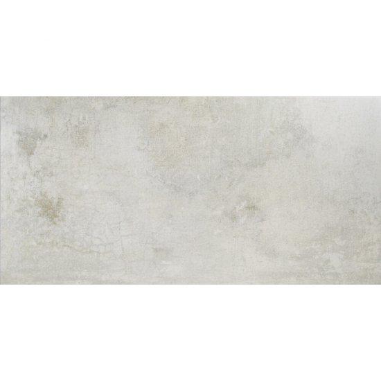 Gres Hiszpański Concrete Biały Poler 50x100