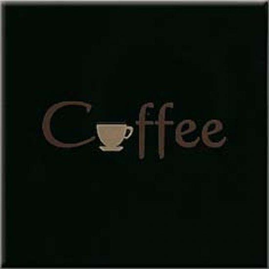 Płytka ścienna APLAUZ czarna inserto caffee błyszcząca 10x10 gat. I
