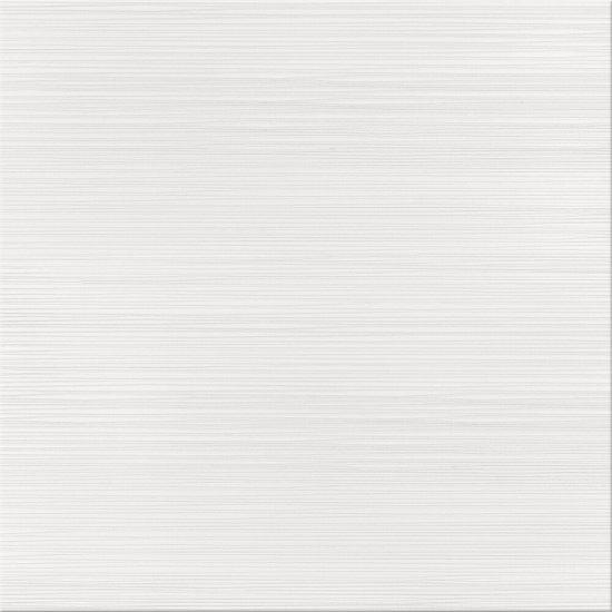 Gres szkliwiony DELICATE LINES biały poler 42x42 gat. II